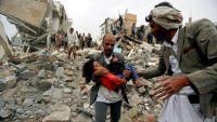 عشرات القتلى والجرحى من المدنيين بغارات للتحالف استهدفت سوقا شعبيا بالحديدة