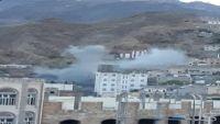 جرحى بقذيفة أطلقها الحوثيون استهدفت مستشفى الثورة بتعز