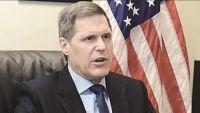 السفير الأمريكي يعرب عن تفاؤله بنتيجة مفاوضات جنيف المقبلة