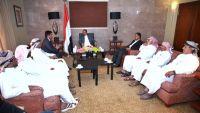 نائب الرئيس يطلع على المستجدات في محافظة المهرة