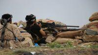 مدفعية الجيش الوطني تستهدف تعزيزات للحوثيين في مقبنة