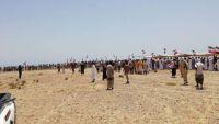 عودة الاحتجاجات إلى المهرة واعتصامات أمام معسكر للقوات السعودية