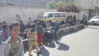 أزمة غاز منزلي في العاصمة صنعاء تزامناً مع انعدام المشتقات النفطية