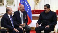 """""""قيامة أرطغرل"""" يترك بصمته على لقاء جاويش أوغلو والرئيس الفنزويلي"""