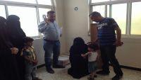 منظمة العون الإنساني (هاد) تدشن مشروع التدخل التغذوي بمدينة تعز