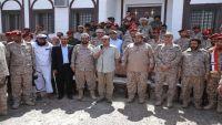 الأحمر يواصل جولته الميدانية في صعدة ويؤكد على ضرورة استعادة الدولة