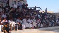 أبناء المهرة يتوافدون للاعتصام في الغيظة رفضا للأطماع التوسعية للإمارات والسعودية
