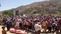 """المئات في الضالع يشيعون جثمان الصحفي """"السقلدي"""""""