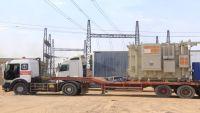 وصول محولين من كوريا الجنوبية لمحطة ربط كهرباء مأرب الغازية بقوة 40 ميجاوات