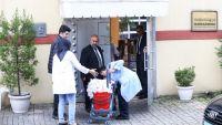 بالصور.. إدخال كميات كبيرة من مستلزمات التنظيف للقنصلية السعودية بإسطنبول