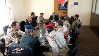 اجتماع أمني وعسكري بمدينة تعز لمناقشة استكمال عملية تحرير المحافظة
