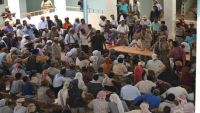 مشايخ ووجهاء أبين يعلنون رفضهم لسياسة التجويع المتعمدة ضد المواطنين