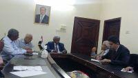 فريق استشاري مصري لتطوير مرافق المياه والصرف الصحي بعدن