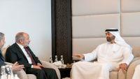 قيادة الإصلاح تناقش مع بن زايد استعادة الدولة وإنهاء الانقلاب