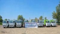 صندوق النظافة والدفاع المدني في مأرب يتسلم آليات ومعدات بكلفة نصف مليون دولار