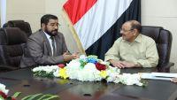 الأحمر يؤكد على استكمال تحرير صعدة وارساء السلام والأمن في حضرموت