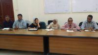 عدن.. مناقشة خطط حملة التحصين ضد شلل الأطفال