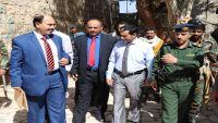 اللجنة الوطنية تزور عددا من سجون مأرب وتلتقي قيادات أمنية