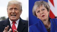 ترامب: خطة البريكست قد تضر بالاتفاقات التجارية مع الولايات المتحدة