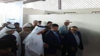 تحركات للسفير الإماراتي في عدن وافتتاح مشاريع تنموية