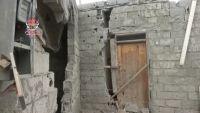 ميليشيات الحوثي تقصف حي المنظر بقذائف الهاون وتفجر مسجداً بالحديدة