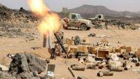 """في """"دمت"""" اليمنية.. معارك تتسع رقعتها ونازحون يزداد عددهم"""