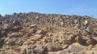 قوات الجيش الوطني تحرر مواقع جديدة في جبهة البقع بصعدة
