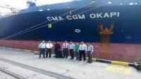 خط ملاحي فرنسي يستأنف نشاطه في ميناء عدن بعد توقفه 3 سنوات