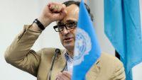 رئيس لجنة التنسيق والمراقبة الأممية باتريك كاميرت يصل عدن