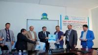 العلوم والتكنولوجيا تكرم طلبة الهندسة الطبية الفائزين في مسابقة التصميم والابتكار الدولية