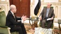 الرئيس هادي: الإرادة الدولية في اختبار حقيقي لتنفيذ التزاماتها وتسليم الحديدة