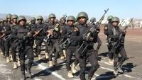 تدشين العام التدريبي بمعسكر قوات الأمن الخاصة في مأرب وتخرج دفع أمنية