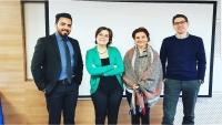 الماجستير في العلاقات الدولية للزميل هشام الزيادي من جامعة إسطنبول