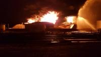 مصافي عدن: تم احتواء الحريق وسنحقق في الأسباب