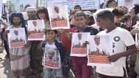 عدن.. وقفة احتجاجية لأهالي المخفيين قسرياً في سجون تشرف عليها الإمارات