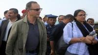 """الحكومة: استهداف الحوثيين لموكب """"كاميرت"""" بالحديدة محاولة لعرقلة اتفاق السويد"""