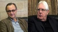 فضائية: المبعوث الأممي يغادر صنعاء رفقة كاميرت ونشوب خلافات بينهما
