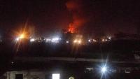 انفجاران بصنعاء استهدفا مخزنين للصواريخ والأسلحة