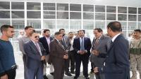 وزير النقل يتفقد مطار الريان لإعادة تشغيله للمرة الأولى منذ 2016