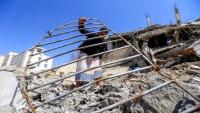 غارات للتحالف في صنعاء بعد ساعات من مغادرة غريفيث
