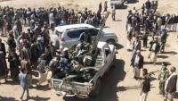 """هدوء حذر في """"حجور"""" والحوثيون يحشدون بعد طردهم من مناطق سابقة"""
