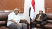 الحكومة تناقش ترتيبات نقل مقر اللجنة العليا للانتخابات إلى عدن