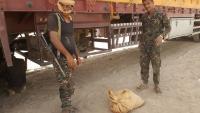 أمن مأرب بضبط كميات من الحشيش المهرب إلى صنعاء
