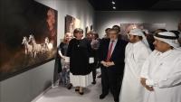 خيول السلاطين العثمانيين تحكي أعظم الفتوحات في معرض فني بالدوحة