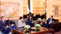 الحريري تبلّغ قلق واشنطن من «ميليشيا» لا تخضع لسيطرة الحكومة