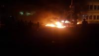 تظاهر العشرات في عدن احتجاجاً على مقتل شاب برصاص عناصر أمنية