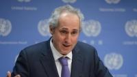 """الأمم المتحدة تقول إنها تجري اتصالات مع الأطراف اليمنية لتنفيذ """"اتفاق ستوكهولم"""""""