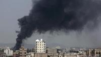 غارات للتحالف على معسكرات للحوثي في صنعاء