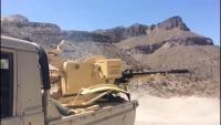 تدمير آليات ثقيلة للحوثيين شمالي الضالع