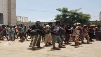 سلطات عدن تحتجز مئات اللاجئين الأفارقة تمهيداً لإعادتهم إلى بلدانهم (صور)